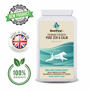 best paw nutrition calming tablets for dogs & cats - helps pets cope with stress from fireworks, seperation anxiety, storms & travel - made in uk - 120 tablets Best Paw Nutrition Calming Tablets For Dogs & Cats – Helps Pets Cope With Stress From Fireworks, Seperation Anxiety… Best Paw Nutrition Calming Tablets For Dogs Cats Helps Pets Cope With Stress From Fireworks Seperation Anxiety Storms Travel Made In UK 120 Tablets 0 300x300