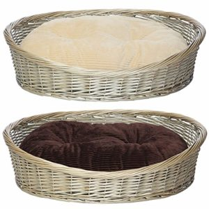 bunty oval wicker wood dog pet puppy cat bed basket with fleece round cushion Bunty Oval Wicker Wood Dog Pet Puppy Cat Bed Basket with Fleece Round Cushion – Cream – Small Bunty Oval Wicker Wood Dog Pet Puppy Cat Bed Basket with Fleece Round Cushion 0 300x300