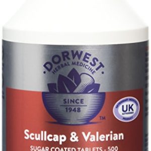 dorwest herbs scullcap and valerian tablets for dogs and cats Dorwest Herbs Scullcap and Valerian Tablets for Dogs and Cats Dorwest Herbs Scullcap and Valerian Tablets for Dogs and Cats 0 300x300