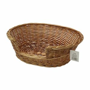 jvl willow, 58 x 49 x 20 cm JVL 15-096 Full Buff Wicker Small Pet Bed Basket, 58 x 49 x 20 cm, Brown JVL Willow 58 x 49 x 20 cm 0 300x300
