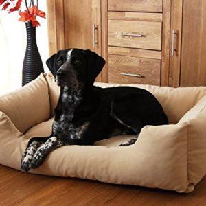 knuffelwuff dog bed dreamline l to xxxl brown - beige - black Knuffelwuff Dog Bed Dreamline M – L 85cm x 63cm Brown Knuffelwuff Dog Bed Dreamline L to XXXL Brown Beige Black 0 300x300