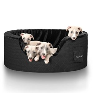 knuffelwuff dog bed made of 5cm foam - henry brown, grey, black, beige Knuffelwuff Dog bed made of 5cm foam Henry M-L 80 x 60cm Beige Knuffelwuff Dog bed made of 5cm foam Henry Brown Grey Black Beige 0 300x300