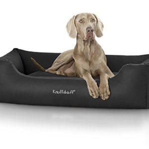 knuffelwuff leather dog bed sidney - size: m to xxxl Knuffelwuff Sidney Leather Dog Bed, X-Large/3X-Large, 155 x 105 cm, Brown Knuffelwuff Leather Dog Bed Sidney Size M to XXXL 0 300x300
