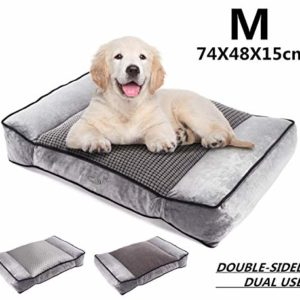 pecute large dog bed(102x69cm), shredded 20 cm memory foam orthopaedic pet bed for good support,warm plush & cool silk double sided design four seasons available,removable cover washable easy to clean Pecute Large Dog Bed(102x69cm), Shredded 20 cm Memory Foam Orthopaedic Pet Bed for Good Support,Warm Plush & Cool Silk… Pecute Large Dog Bed102x69cm Shredded 20 cm Memory Foam Orthopaedic Pet Bed for Good SupportWarm Plush Cool Silk Double Sided Design Four Seasons AvailableRemovable Cover Washable Easy to Clean 0 300x300