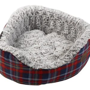 petface blue checked fleece oval pet bed plush bamboo removable cushion dog basket (various sizes) Petface Check Pattern Oval Dog Bed with Bamboo Plush Fleece Cushion, Medium, Blue/Red Petface Blue Checked Fleece Oval Pet Bed Plush Bamboo Removable Cushion Dog Basket Various Sizes 0 300x300