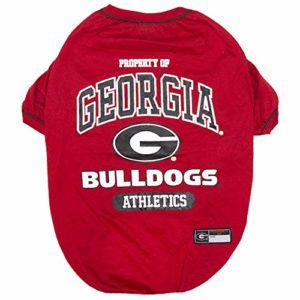 Football /& Basketball DOGS /& CATS SHIRT COLLEGE PET OUTFIT DOG TEE SHIRT Durable SPORTS PET TEE 5 Sizes available in 50+ SCHOOL TEAMS COLLEGIATE DOG SHIRT NCAA T-SHIRT