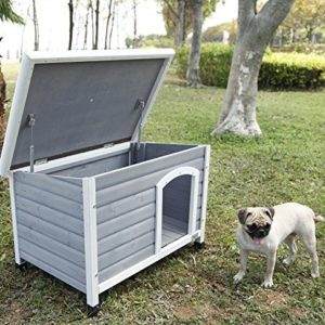 petsfit insulated wooden dog kennel with removable floor for easy cleaning, wooden kennel pitch roof, outdoor wood dog kennel and shelter Petsfit Dog Kennel for Outside,Dog House with Removable Floor for Easy Cleaning, Insulated Outdoor Wooden Dog House… Petsfit Insulated Wooden Dog Kennel with Removable Floor for Easy Cleaning Wooden Kennel Pitch Roof Outdoor Wood Dog Kennel and Shelter 0 300x300
