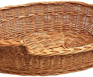 prestige dog bed basket Prestige Wicker Dog Bed Basket, Medium, Cream/ Grey Prestige Dog Bed Basket 0 300x250