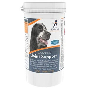 advanced joint support supplement for dogs, with powerful glucosamine, chondroitin, green lipped mussel, msm, curcumin & hyaluronic acid, human grade ingredients, 300 tablets, uk manufactured Advanced Joint Support Supplement For Dogs, With Powerful Active Ingredients To Help Naturally Support and Maintain… Advanced Joint Support Supplement For Dogs With Powerful Glucosamine Chondroitin Green Lipped Mussel MSM Curcumin Hyaluronic Acid Human Grade Ingredients 300 Tablets UK Manufactured 0 300x300