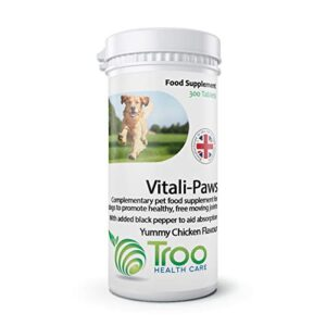 dog joint support 300 tablets | green lipped mussel | glucosamine | chondroitin | msm | high in omega 3 | chicken flavour | uk manufactured Dog Joint Support 300 Tablets | Green Lipped Mussel | Glucosamine | Chondroitin | MSM | High in Omega 3 | Chicken… Dog Joint Support 300 Tablets Green Lipped Mussel Glucosamine Chondroitin MSM High in Omega 3 Chicken Flavour UK Manufactured 0 300x300