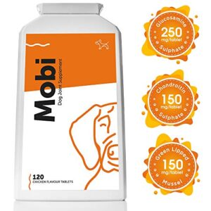 mobi advanced glucosamine for dogs – premium joint mobility support supplement with powerful and natural glucosamine, chondroitin, green lipped mussel, msm, curcumin; uk made Advanced Glucosamine for Dogs – Premium Joint Mobility Support Supplement with Powerful and Natural Glucosamine… Mobi Advanced Glucosamine for Dogs  Premium Joint Mobility Support Supplement with Powerful and Natural Glucosamine Chondroitin Green Lipped Mussel MSM Curcumin UK Made 0 300x300
