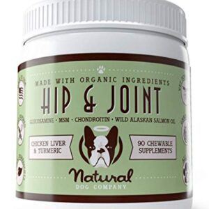 natural dog company - hip & joint supplement with glucosamine | promotes mobility, relieves arthritis pain | chewable chicken liver & turmeric vitamin for dogs - 90 chews Natural Dog Company – Hip & Joint Supplement with Glucosamine | Promotes Mobility, Relieves Arthritis Pain | Chewable… Natural Dog Company Hip Joint Supplement with Glucosamine Promotes Mobility Relieves Arthritis Pain Chewable Chicken Liver Turmeric Vitamin for Dogs 90 Chews 0 300x300