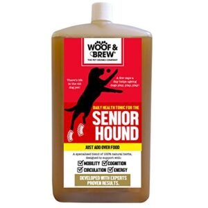 woof&brew senior hound joint supplement for dogs soothes stiff joints in older dogs - one month supply WOOF&BREW Senior Hound Joint Supplement for Dogs Soothes Stiff Joints in Older Dogs – One Month Supply WOOFBREW Senior Hound Joint Supplement for Dogs Soothes Stiff Joints in Older Dogs One Month Supply 0 300x300