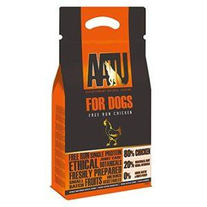 aatu 80/20 dry dog food, chicken, high protein, grain free recipe, no artificial ingredients, 1.5 kg AATU 80/20 Dog Food AATU 8020 Dog Food 0 300x300
