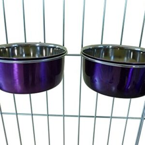 ellie-bo pair of dog bowls for crates, cages or pens and 3 sizes Ellie-Bo Pair of Dog Bowls for Crates/Cages or Pens, Ellie Bo Pair of Dog Bowls For Crates Cages or Pens and 3 Sizes 0 300x300