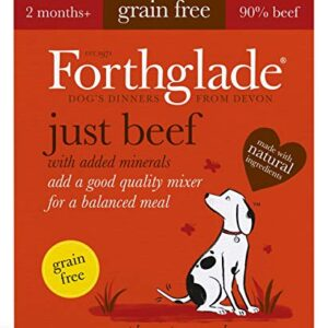 forthglade 100% natural grain free complementary dog pet food Forthglade Natural Grain Free Complementary Wet Dog Food Just 90 Percent Forthglade 100 Natural Grain Free Complementary Dog Pet Food 0 300x300