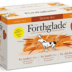 forthglade natural complete wet dog food with brown rice variety pack 395 g (pack of 12) Forthglade Natural Complete Wet Dog Food with Brown Rice, Pack of 12 Forthglade Natural Complete Wet Dog Food with Brown Rice Variety Pack 395 g Pack of 12 0 300x300