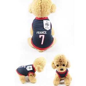 home holic dog costume world cup dog jersey football t-shirt national soccer dog clothes for puppy cat cute soft summer outfit Home Holic Dog Costume World Cup Dog Jersey Football T-shirt National Soccer Dog Clothes for Puppy Cat Cute Soft Summer… Home Holic Dog Costume World Cup Dog Jersey Football T shirt National Soccer Dog Clothes for Puppy Cat Cute Soft Summer Outfit 0 300x300