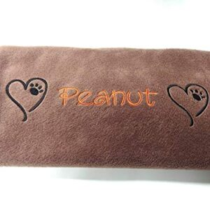 personalised embroidered dog / cat / pet blanket - fleece - super soft- different colours PERSONALISED EMBROIDERED DOG / CAT / PET BLANKET – FLEECE – SUPER SOFT- DIFFERENT COLOURS PERSONALISED EMBROIDERED DOG CAT PET BLANKET FLEECE SUPER SOFT DIFFERENT COLOURS 0 300x300