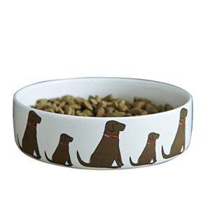 sweet william chocolate labrador dog bowl Sweet William Chocolate Labrador Dog Bowl Sweet William Chocolate Labrador Dog Bowl 0 300x300