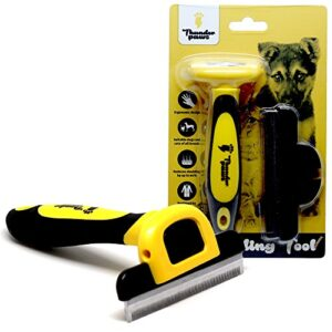 thunderpaws professional de-shedding tool and pet grooming brush, d-shedz for breeds of dogs, cats with short or long hair, small, medium and large Thunderpaws Professional De-shedding Tool and Pet Grooming Brush, D-Shedz for Breeds of Dogs, Cats with Short or Long… Thunderpaws Professional De shedding Tool and Pet Grooming Brush D Shedz for Breeds of Dogs Cats with Short or Long Hair Small Medium and Large 0 300x300