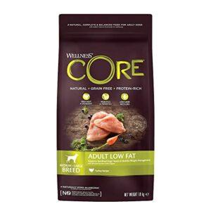 wellness core dog dry grain-free food Wellness CORE Low Fat/Healthy Weight Dog Food Dry, Grain Free – Turkey, 10 kg Wellness CORE Dog Dry Grain Free Food 0 300x300