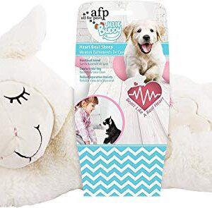 afp snuggle sheep pet behavioral aid toy warm plush toy ALL FOR PAWS AFP Snuggle Sheep Pet Behavioral Aid Toy Warm Plush Toy Warm Bear ((No Heartbeat Only Warming Bag) AFP Snuggle Sheep Pet Behavioral Aid Toy Warm Plush Toy 0 300x295