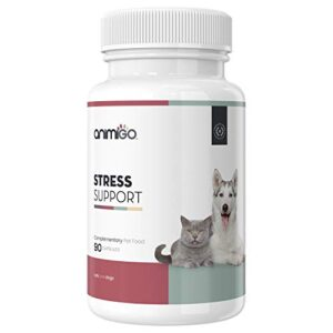 animigo stress support - pet anxiety tablets for dogs & cats, natural calming anti stress formula, training against fireworks & loud noises, relief for small, medium & large breeds + puppy & kittens Animigo Stress Support – Pet Anxiety Tablets For Dogs & Cats, Natural Calming Anti Stress Formula, Training Against… Animigo Stress Support Pet Anxiety Tablets For Dogs Cats Natural Calming Anti Stress Formula Training Against Fireworks Loud Noises Relief For Small Medium Large Breeds Puppy Kittens 0 300x300