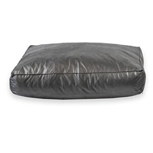 "eco – faux leather slumber pet cushion. oblong dog bed, removeable cover, high density foam, very robust. easy to store and transport. (large 40"" x 34"" x 8"", black) Eco – Faux Leather Slumber Pet Cushion. Oblong DOG BED, Removeable cover, High Density Foam, Very robust. Easy to Store… Eco  Faux Leather Slumber Pet Cushion Oblong DOG BED Removeable cover High Density Foam Very robust Easy to Store and Transport 0 300x300"