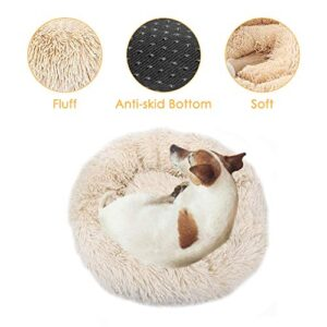 homechi pet calming bed, donut cuddler nest warm soft plush dog cat cushion with cozy sponge non-slip bottom for small medium pets snooze sleeping indoor, machine washable 15.7in/19.7in/23.6in/27.56in HomeChi Pet Calming Bed, Donut Cuddler Nest Warm Soft Plush Dog Cat Cushion with Cozy Sponge Non-Slip Bottom for Small… HomeCHI Pet Calming Bed Donut Cuddler Nest Warm Soft Plush Dog Cat Cushion with Cozy Sponge Non Slip Bottom for Small Medium Pets Snooze Sleeping Indoor Machine Washable 157in197in236in2756in 0 300x300