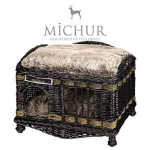 "michur tom dark dog basket dog basket cat basket dog bed cat bed pasture dog cave cat cave cat rattan willow brown approx. 23.62""x 15.75""x 19.69"" (lying area 22.83""x14.96"") MICHUR TOM DARK Dog basket Dog basket Cat basket Dog bed Cat bed Pasture Dog cave Cat cave Cat rattan willow Brown… MICHUR TOM DARK Dog basket Dog basket Cat basket Dog bed Cat bed Pasture Dog cave Cat cave Cat rattan willow Brown approx 2362x 1575x 1969 lying area 2283x1496 0 300x300"