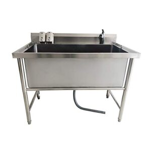 qnmm pet bathtub large pet products non-slip bath tub for dog and cat not bend over with high stainless steel legs easy install QNMM Pet Bathtub Large Pet Products Non-slip Bath Tub for Dog and Cat Not Bend Over with High Stainless Steel Legs Easy… QNMM Pet Bathtub Large Pet Products Non slip Bath Tub for Dog and Cat Not Bend Over with High Stainless Steel Legs Easy Install 0 300x300