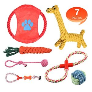 rioddas puppy dog chew toys teething training, giraffe rope toy rubber interactive toy gift set for small and medium dogs.… Rioddas Puppy Dog Chew Toys Teething Training, Giraffe Rope Toy Rubber Interactive Toy Gift Set for Small and Medium… Rioddas Puppy Dog Chew Toys Teething Training Giraffe Rope Toy Rubber Interactive Toy Gift Set for Small and Medium Dogs 0 300x300