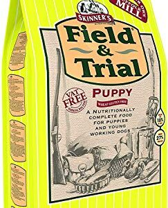 skinner's field & trial puppy – complete dry food, sensitive, supports gut health, key nutrients, 15kg Skinner's Field & Trial Puppy – Complete Dry Food, Puppy & Junior (Puppy Wheat Gluten Free, 15 kg) Skinners Field Trial Puppy  Complete Dry Food Sensitive Supports Gut Health Key Nutrients 15kg 0 243x300