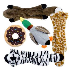 toozey squeaky dog toy - three fill-free puppy toys and two plush toys with stuffing - indestructible dog toys for small and medium-sized dogs - 5 pcs Toozey Squeaky Dog Toy – Three Fill-free Puppy Toys and Two Plush Toys with Stuffing – Plush Puppy Dog Toys for Small… Toozey Squeaky Dog Toy Three Fill free Puppy Toys and Two Plush Toys with Stuffing Indestructible Dog Toys for Small and Medium sized Dogs 5 PCS 0 300x300