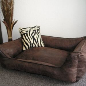 velluto dog sofa / bed 90 x 70 cm brown Hundebettenmanufaktur Velluto Dog Sofa/Bed 90 x 70 cm Brown Velluto Dog Sofa Bed 90 x 70 cm Brown 0 300x300