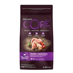 wellness core puppy food dry Wellness CORE Puppy Food Dry, Grain Free – Turkey & Chicken, 1.5 kg Wellness CORE Puppy Food Dry 0 300x300
