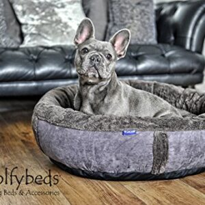 "wolfybeds medium round fleece dog bed in slate grey 79cm x 79cm (31"" x 31"") washable covers Wolfybeds Medium Round Luxury Fleece Dog Bed in Slate Grey 79cm x 79cm (31″ x 31″) washable covers Wolfybeds Medium Round Fleece Dog Bed in Slate Grey 79cm x 79cm 31 x 31 washable covers 0 300x300"